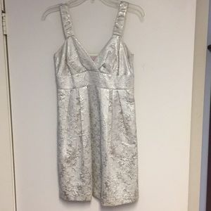 Dresses & Skirts - Short silver dress size 4